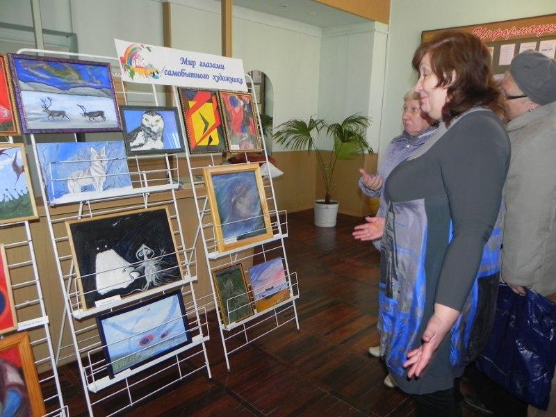 Выставка работ художника-любителя В.В.Тимонина